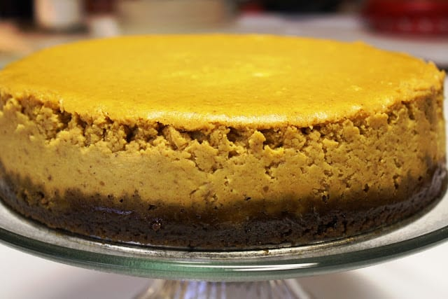 I messed upward this recipebut it all the same tasted wonderful Perfectly Perfect Pumpkin Cheesecake