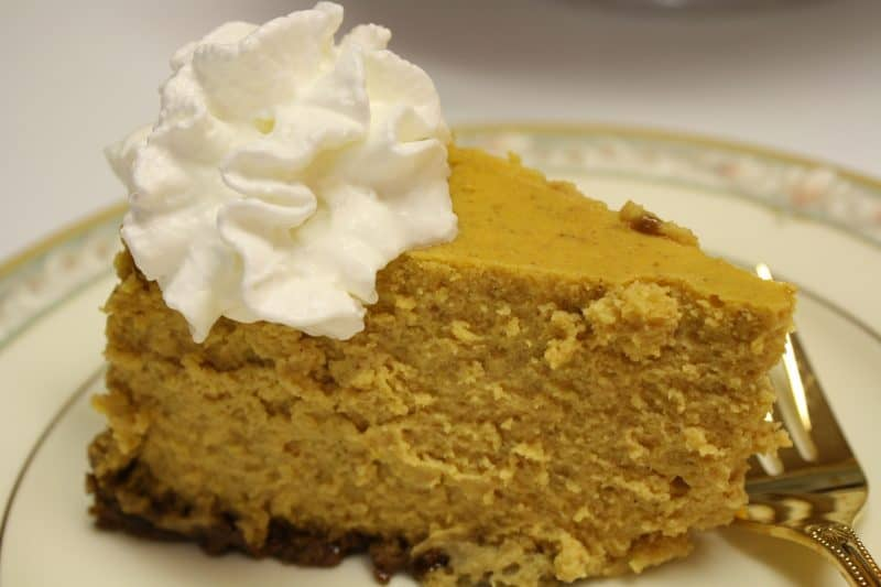 Perfectly Perfect Pumpkin Cheesecake