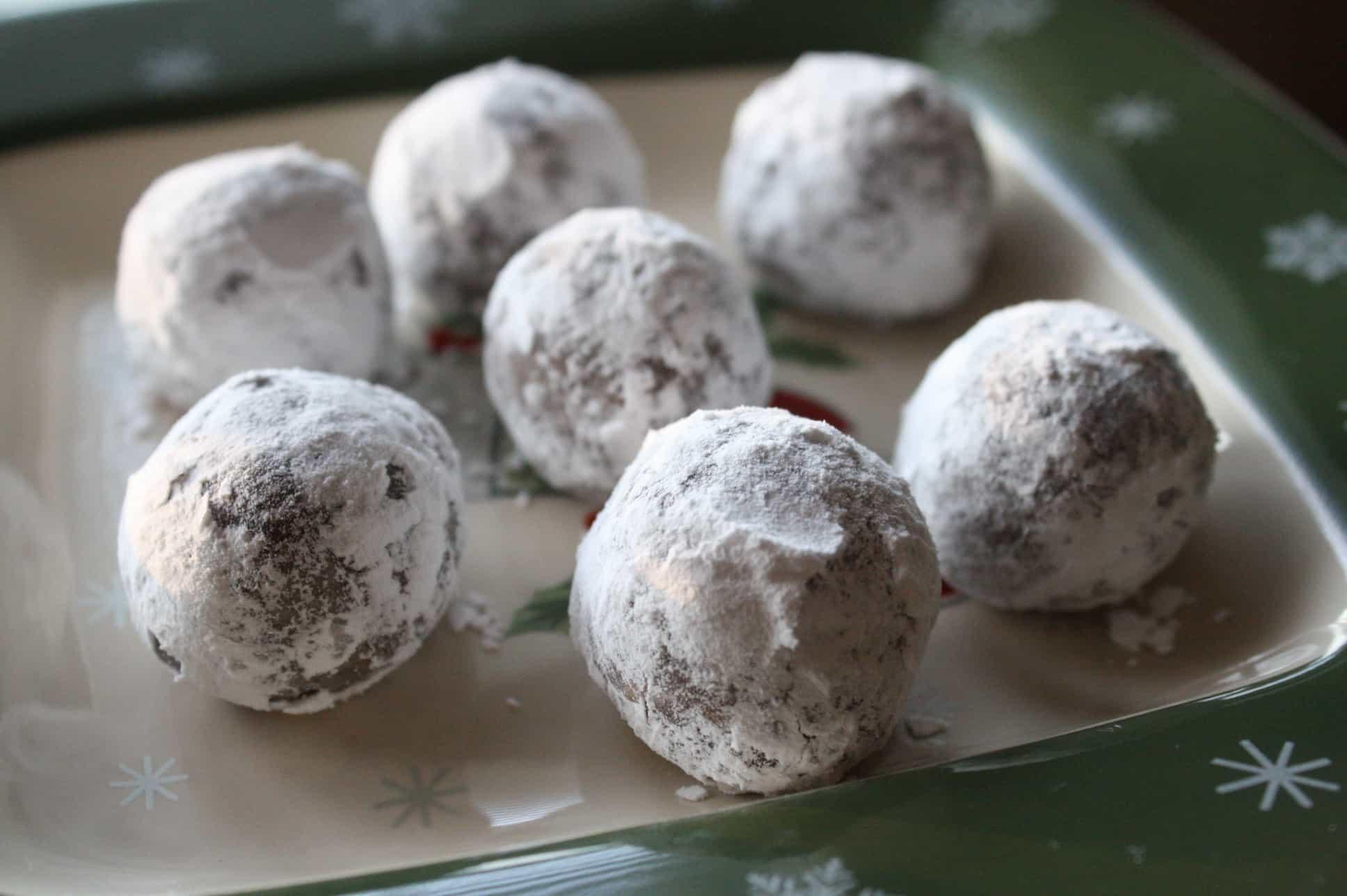 Bourbon Balls - Saving Room for Dessert