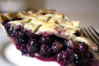 together with nosotros started off amongst a fresh huckleberry for my hubby 1.  Fresh Blueberry Pie