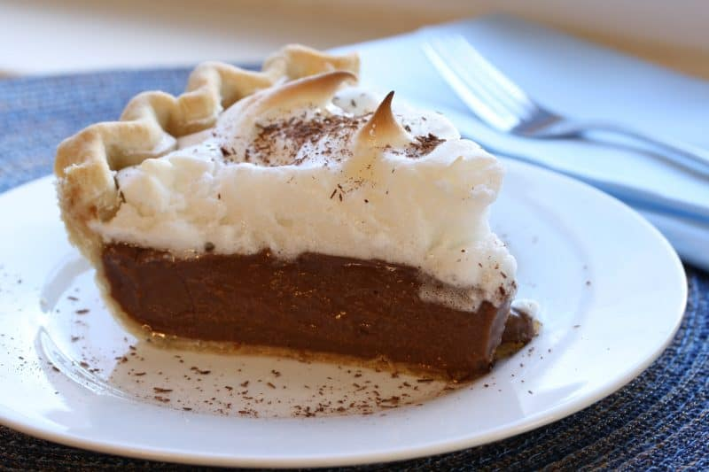 No. 4   Chocolate Cream Pie