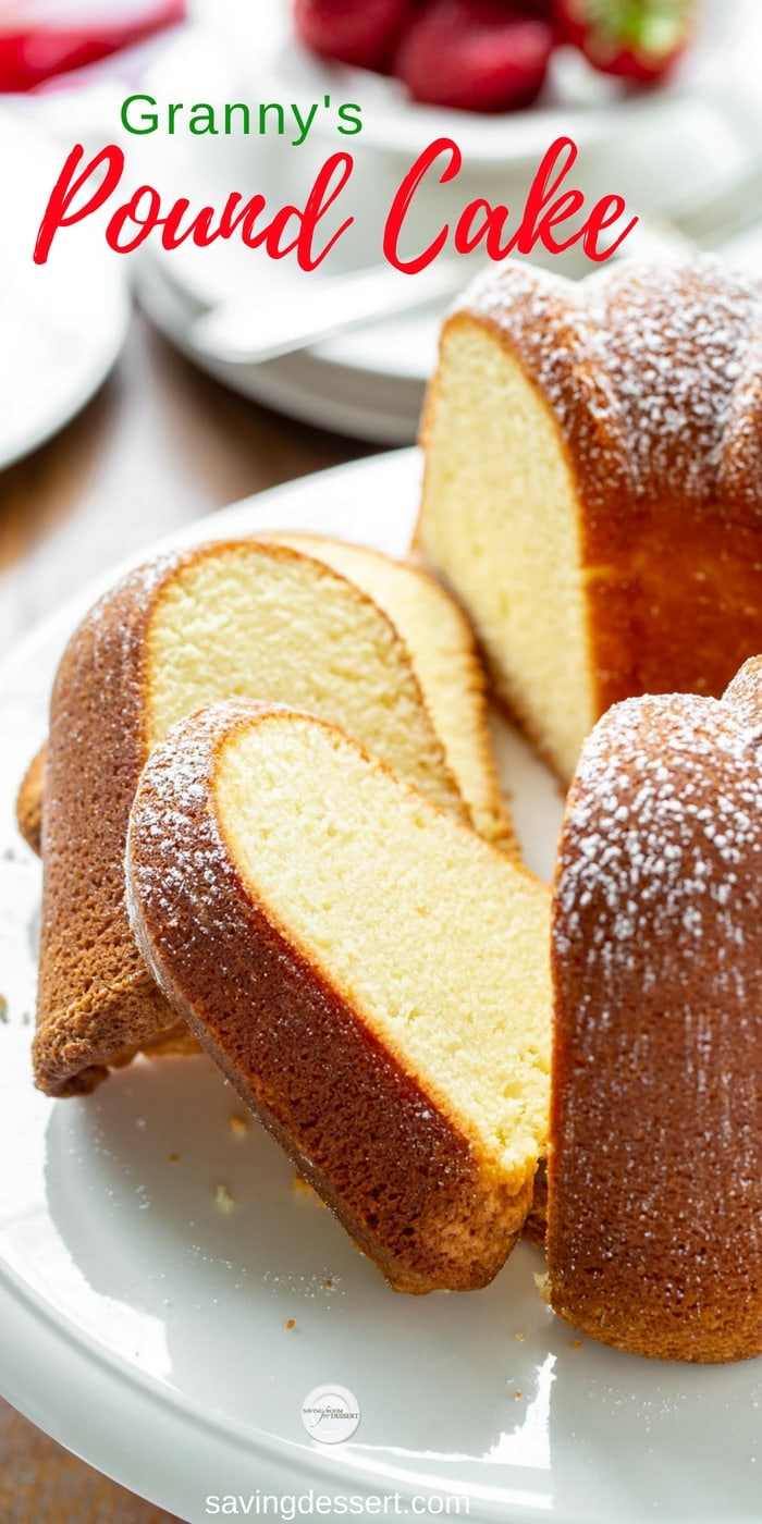 Can I Use Margarine Instead Of Butter In Pound Cake