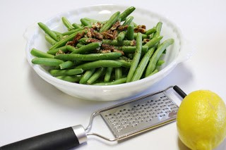 s gotta stimulate got about vegetables sometime ya know  Oven Roasted Green Beans amongst Pecans