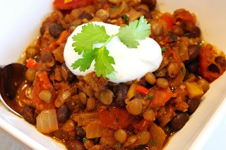 Sometimes things only run out peachy alongside a recipe Lentil too Black Bean Chili
