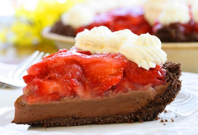 s roommate asked if I could brand something that tasted similar chocolate covered strawberries No. 12 – Strawberry Chocolate Pie