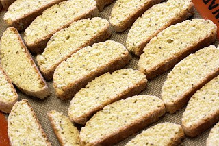 stays fresh for a long fourth dimension in addition to goes keen alongside java Biscotti alongside Anise Seed
