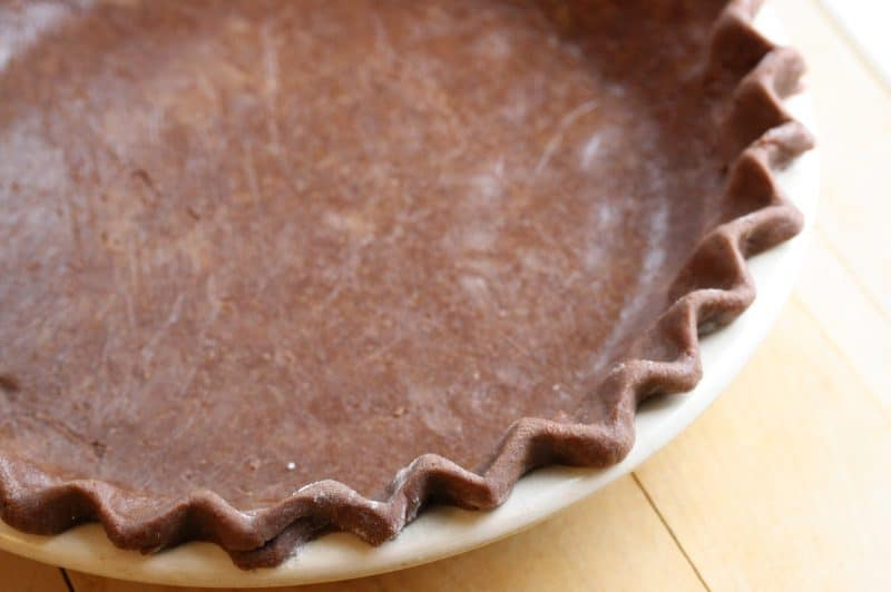 a deliciously low-cal pie amongst a prissy chocolate flavour Pie No. fifteen – Mississippi Mud Pie