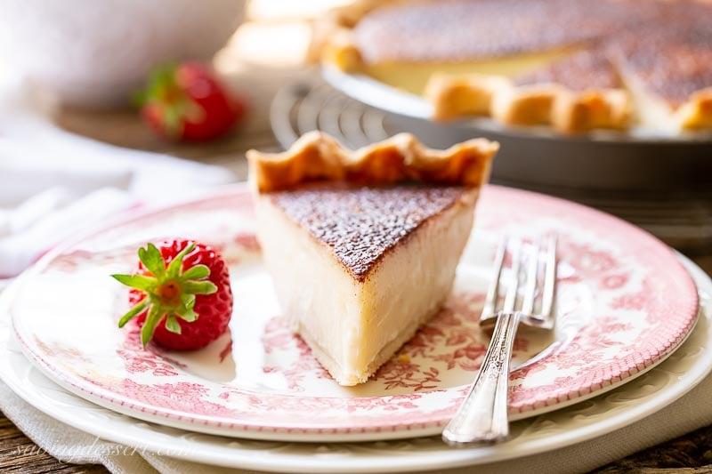 Hoosier Sugar Cream Pie Recipe Saving Room For Dessert