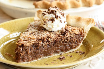 years my hubby worked inwards radio in addition to TV intelligence No. 32 – High German Chocolate Pie