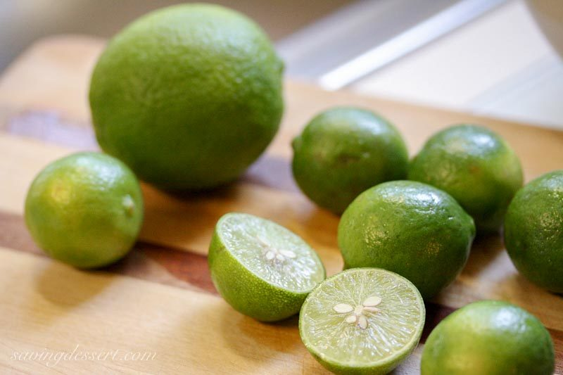 Key Limes and one Persian Lime