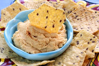 ve never told yous this but idea it was fourth dimension to formally innovate her Freaky Fri Roasted Garlic Hummus – Sarah's Way