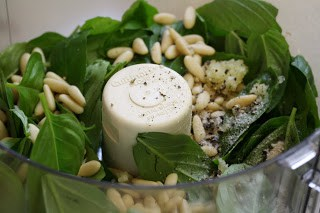 He was a fight indignant together with replied that nosotros convey lots of growing flavour left Basil Pesto  Vegetable Ribbons