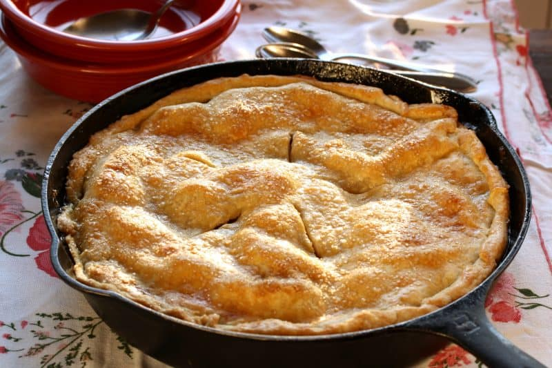 No. 37 – Skillet Apple Pie