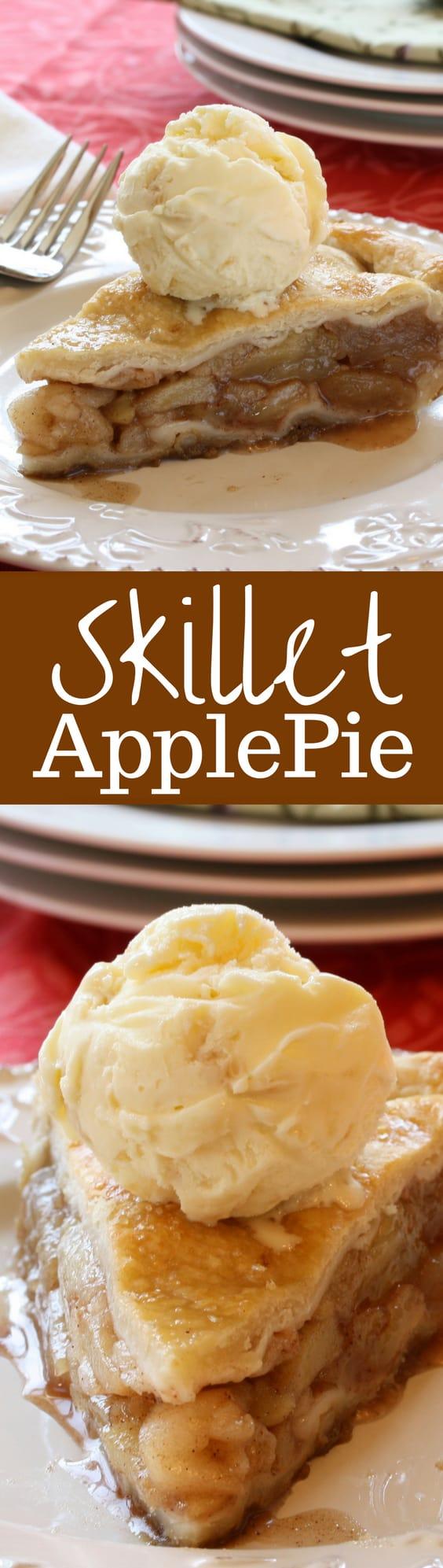 skillet-apple-pie