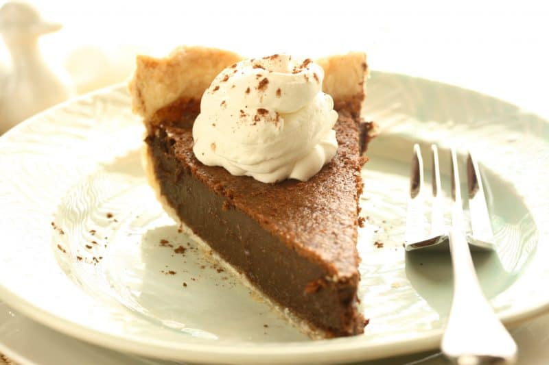No. 41  Chocolate Chess Pie