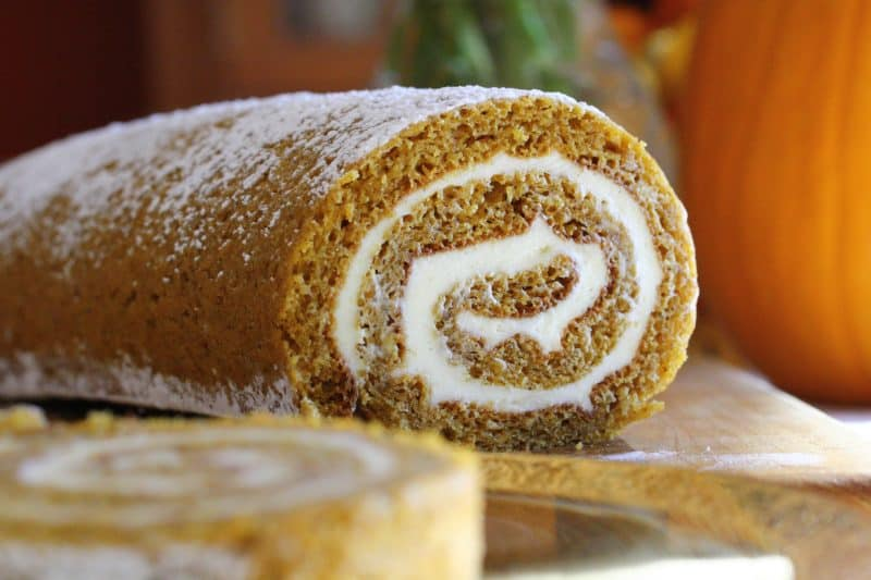 Pumpkin Roll with Cream Cheese Filling – Redux