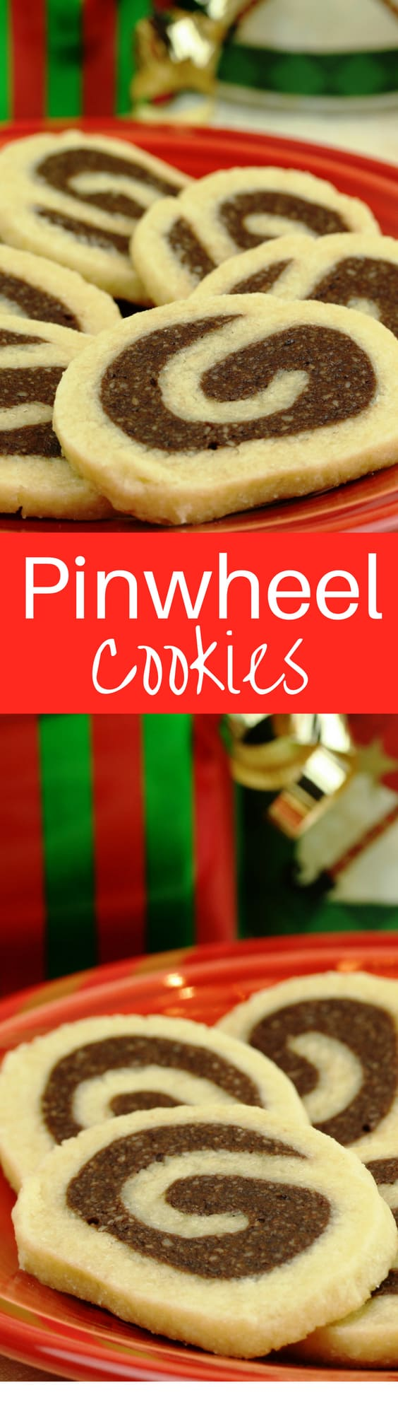 Pinwheel Cookies - an simple vanilla cookie with a lightly sweet nutty chocolate filling - an heirloom family recipe. www.savingdessert.com