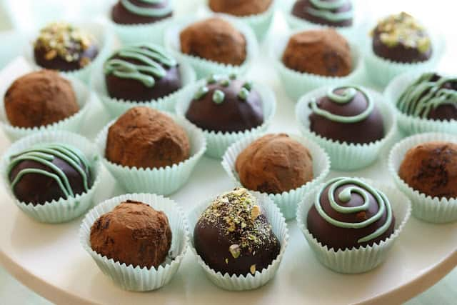 Bailey's Irish Cream Chocolate Truffles