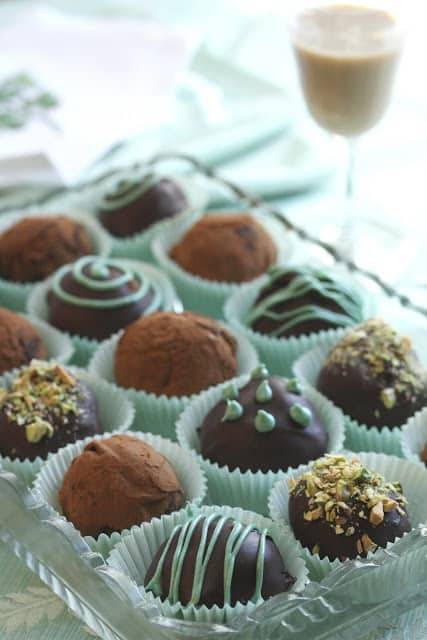 Baileys Irish Cream Chocolate Truffles