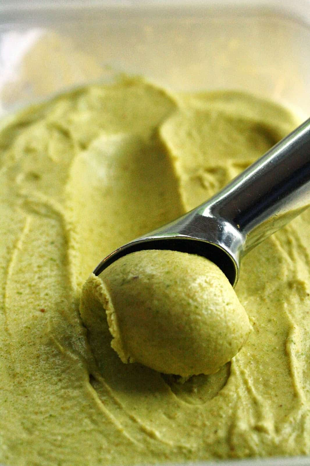 Pistachio Ice Cream - Saving Room for Dessert