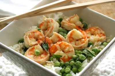 """Garden to Table"" – Thai Green Curry Shrimp with Peas & Basil"