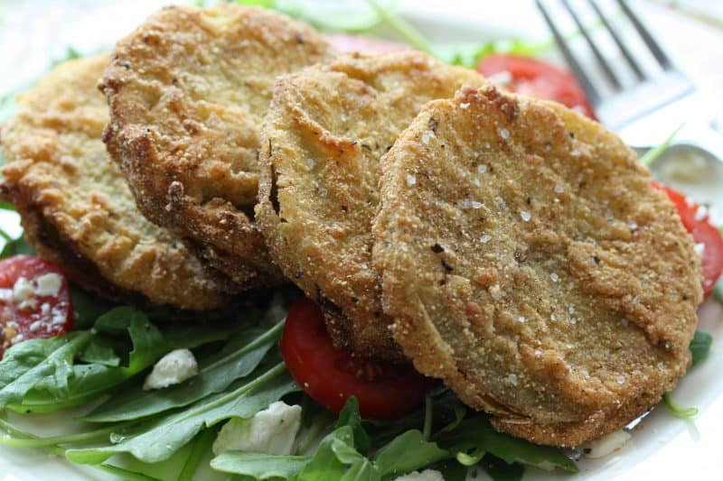 """Garden to Table"" – Fried Green Tomatoes"