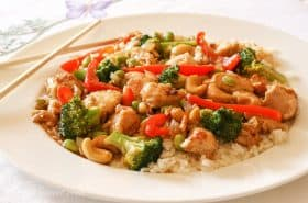 Honey Cashew Chicken-1