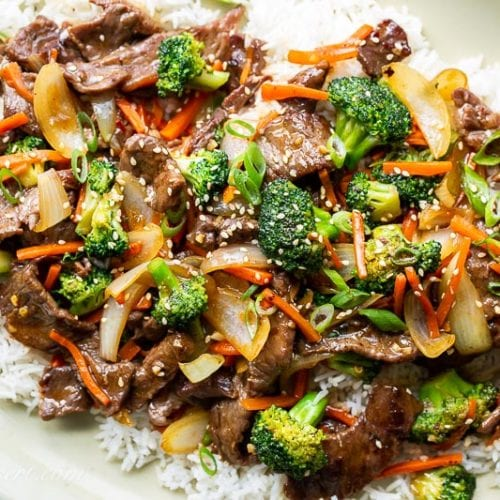 Beef And Broccoli Stir Fry Saving Room For Dessert