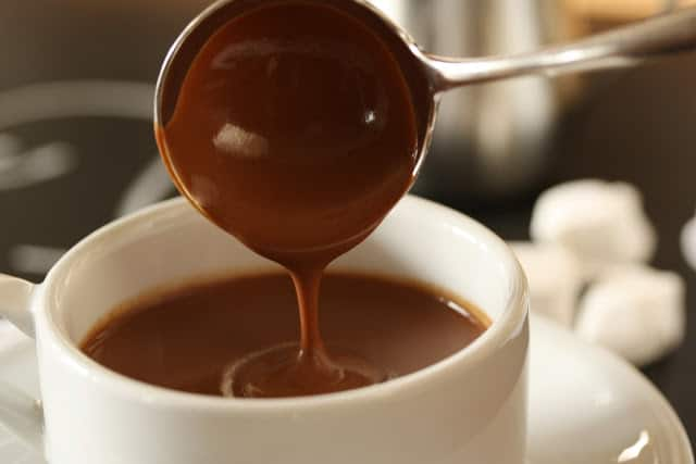 Hot chocolate for the serious chocolate lover