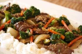 SRFD Beef Broccoli