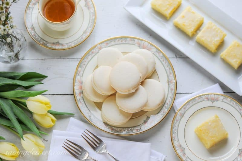 Lemon Macarons with Limoncello Buttercream