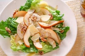 Poached Chicken & Pear Salad-3