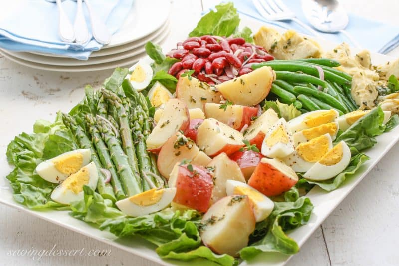 Vegetable Nicoise Salad