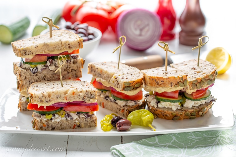 Greek Salad Hummus Sandwich Saving Room For Dessert,Gas Grills Parts