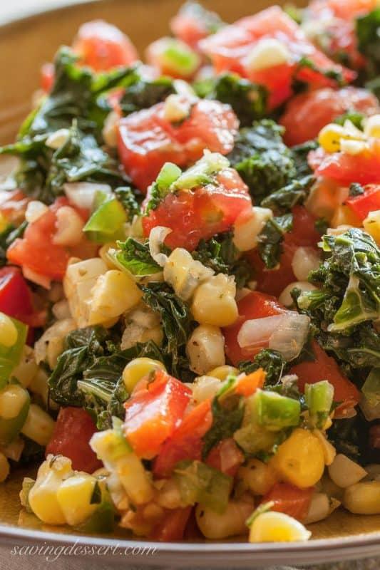 Cajun Corn & Kale Sale
