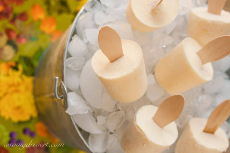 Fuzzy Navel Cream Pops (2 recipes!)