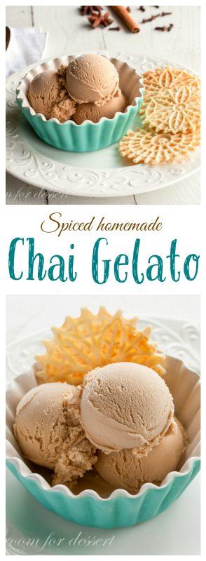 Chai Gelato