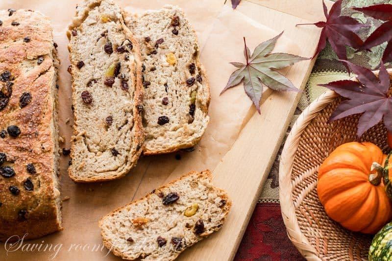 Barm Brack Irish Halloween Bread Saving Room For Dessert