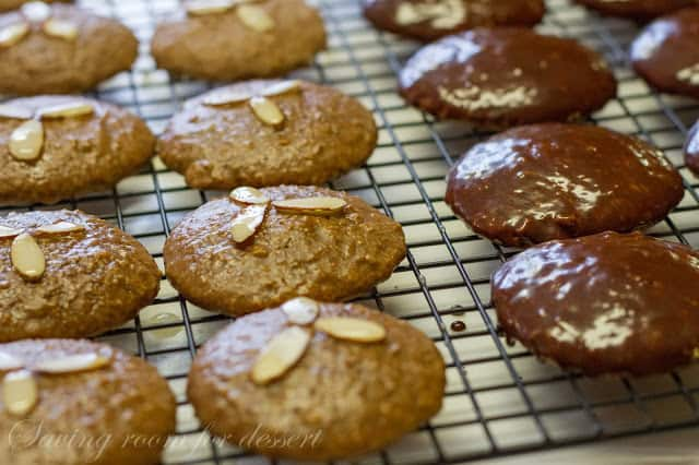 Lebkuchen - German Spice Cookies
