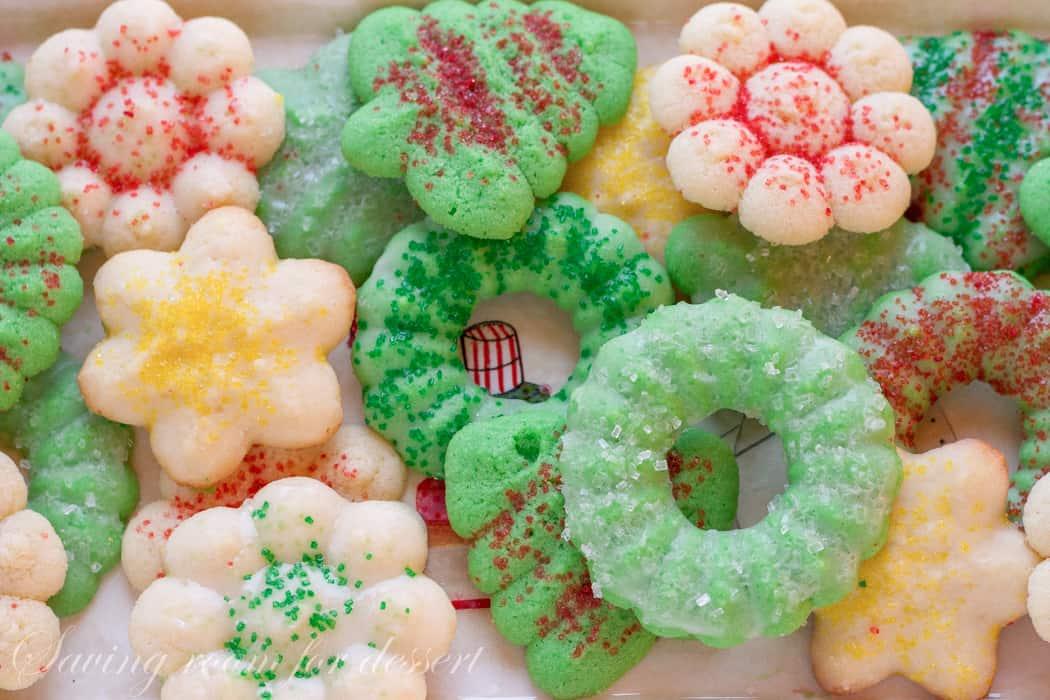 Spritz Cookies - Saving Room for Dessert