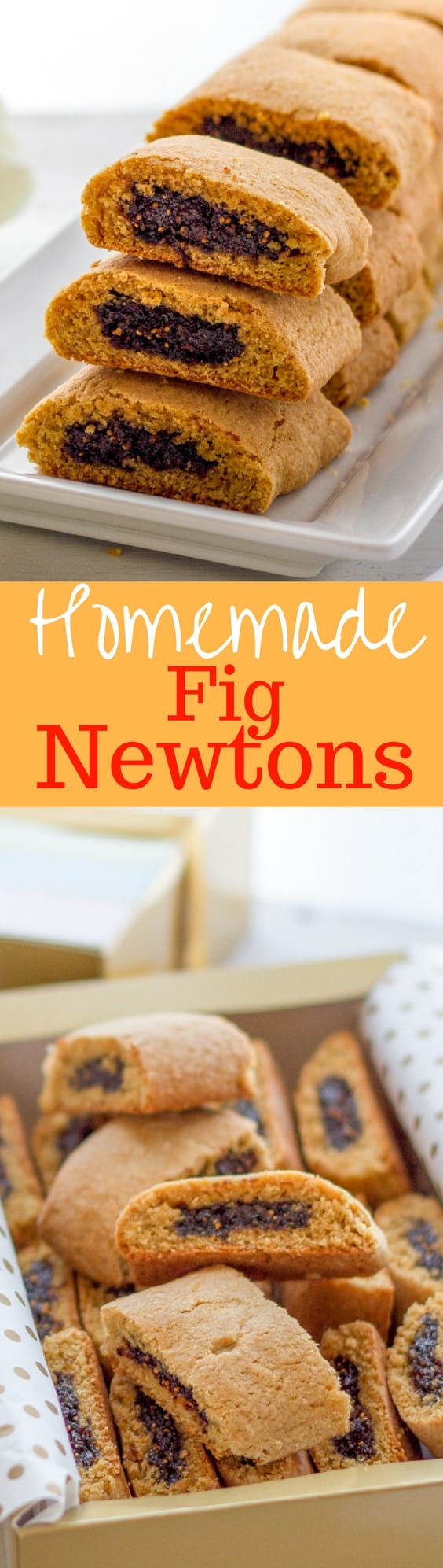 Homemade Fig Newtons - so much better when they are homemade!