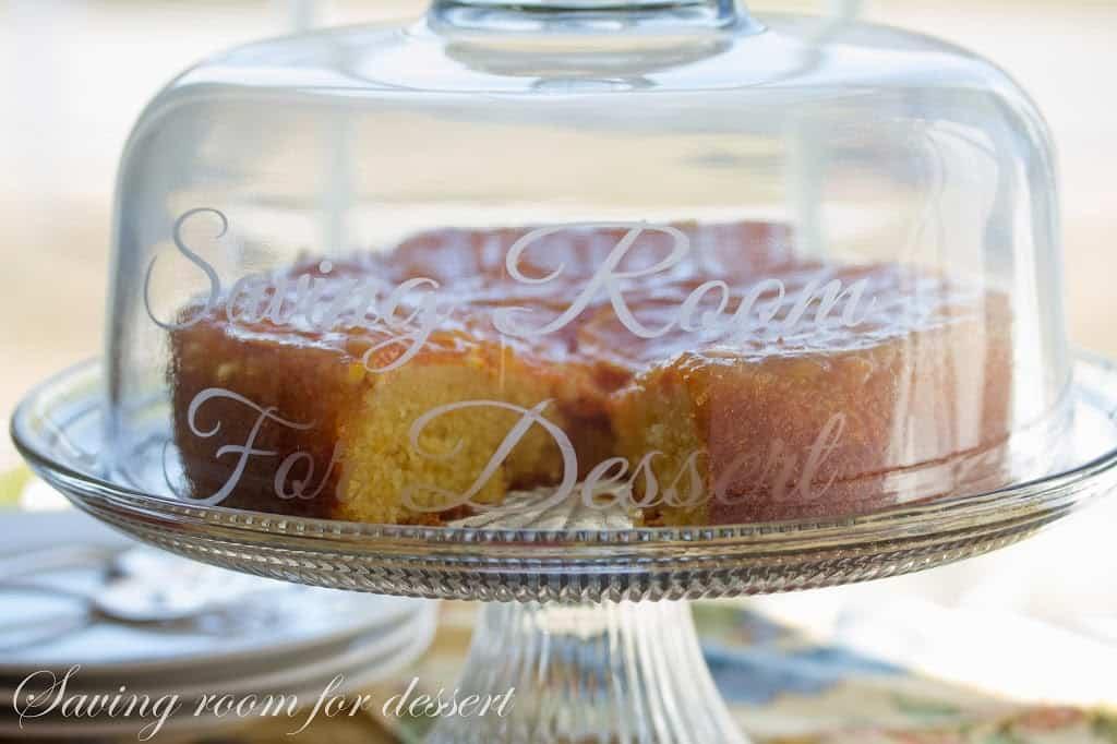 Orange Marmalade Cake - Saving Room for Dessert