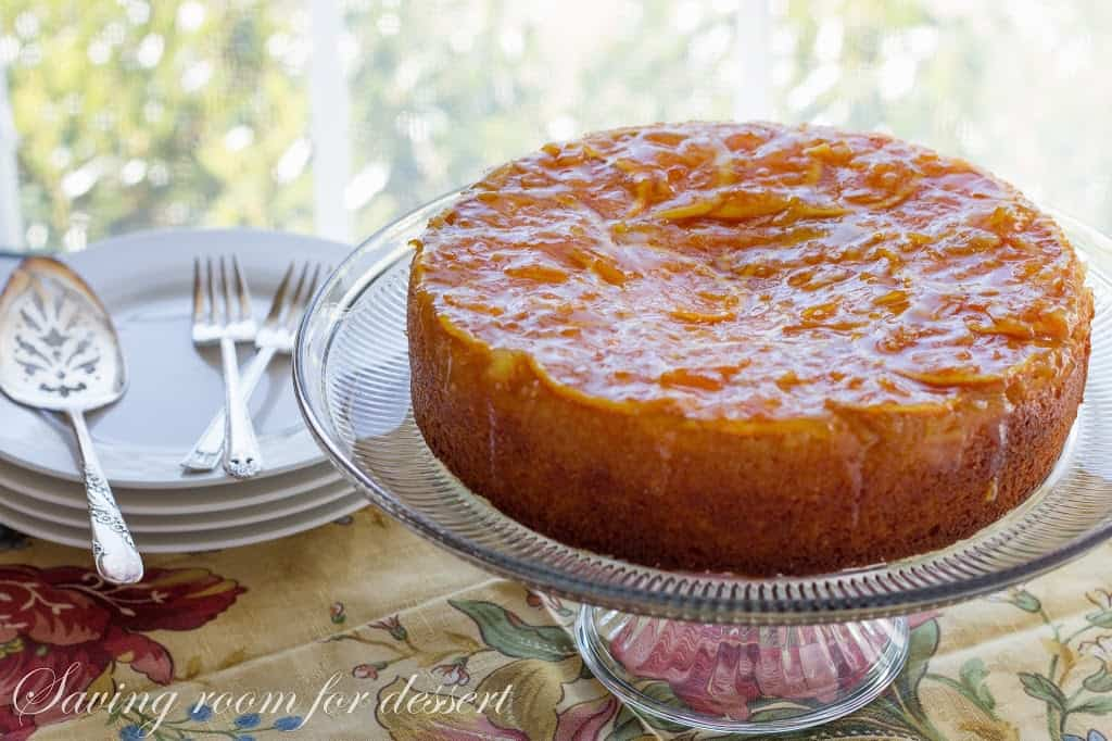 Orange Marmalade Cake - Saving Room for Dessert