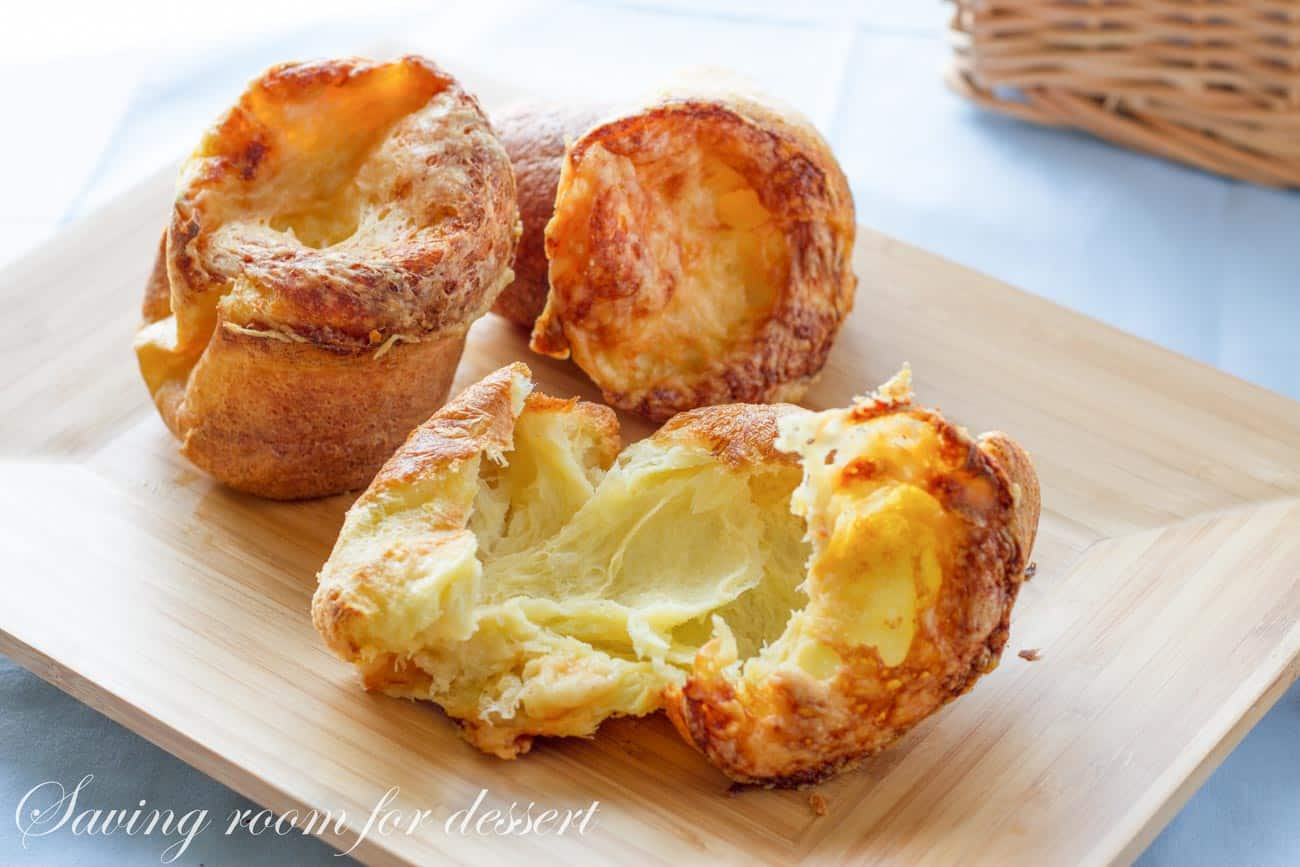 Gruyere Popovers Saving Room For Dessert