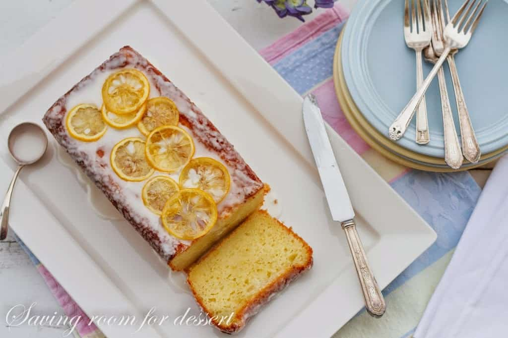 this cake is moist and lemony and melt in your mouth delicious