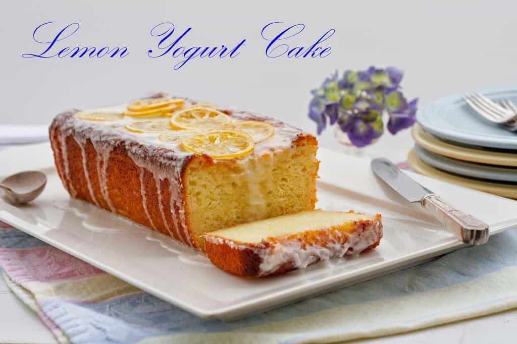 Lemon Yogurt Cake - Saving Room for Dessert