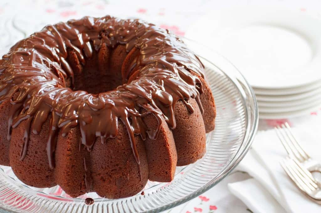 Chocolate Pound Cake - Saving Room for Dessert