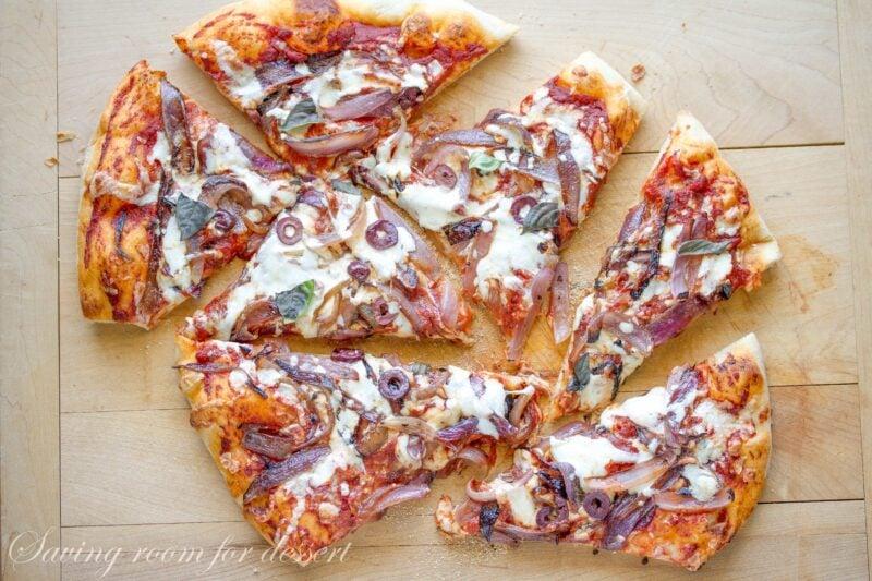 Homemade Pizza Crust & Pizza Sauce