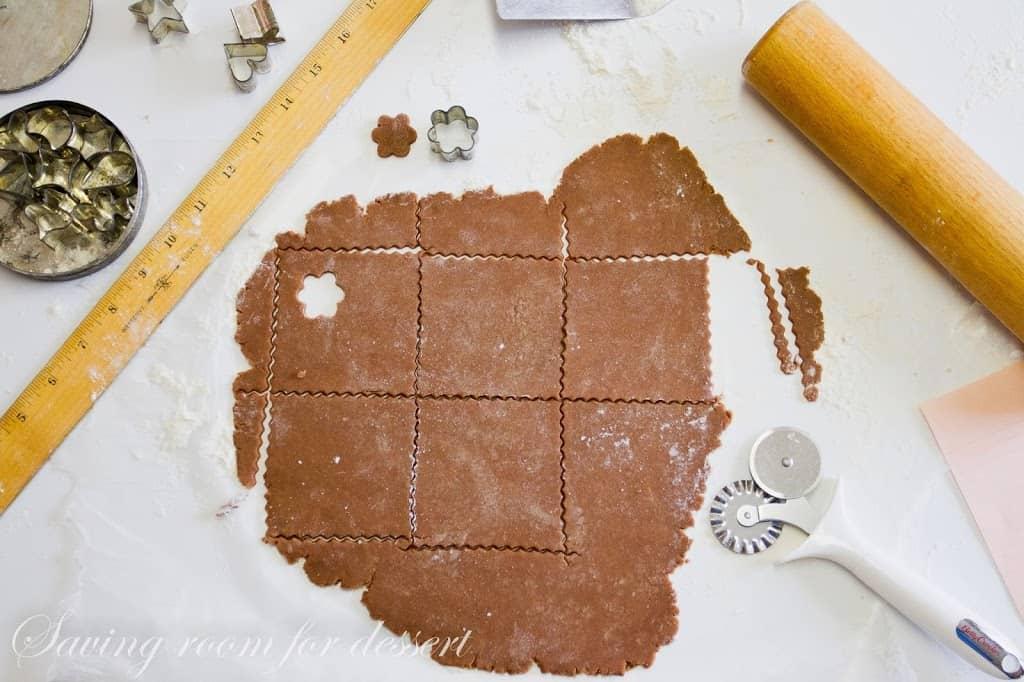Chocolate Graham Crackers - Saving Room for Dessert