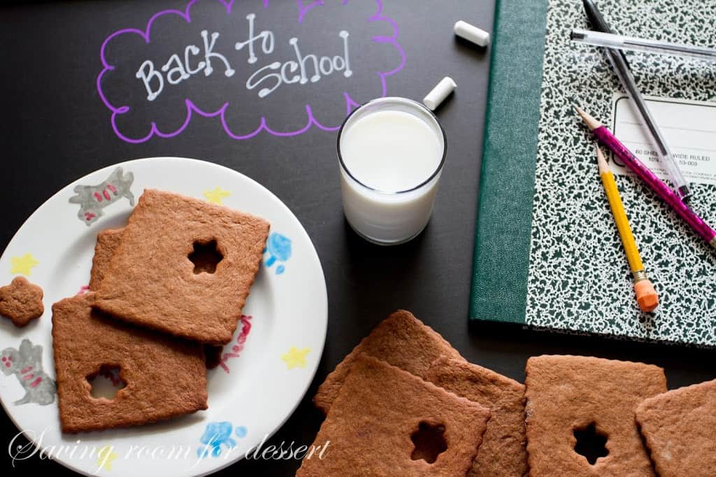 Chocolate Graham Crackers - Saving Room for Dessert